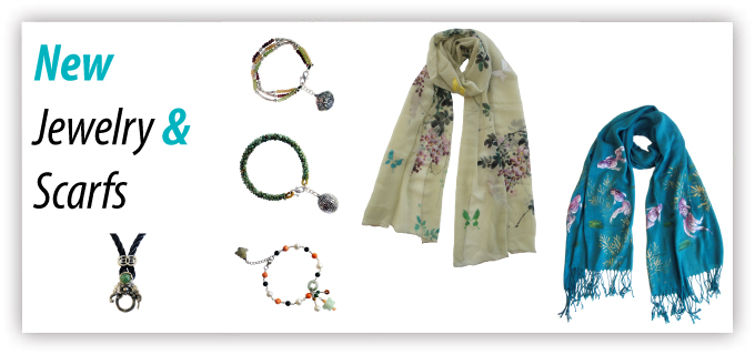 Jewelry and Scarves promo
